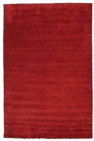 Handloom Fringes - Dark Red Covor 200X300 Modern Roşu (Lână, India