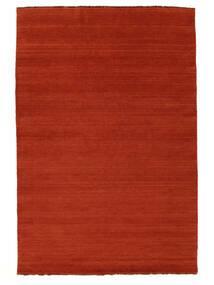 Handloom Fringes - Ruginiu/Roşu Covor 160X230 Modern Ruginiu/Portocaliu (Lână, India)