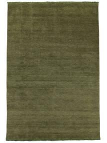 Handloom Fringes - Verde Covor 160X230 Modern Verde Oliv (Lână, India)