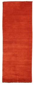 Handloom Fringes - Ruginiu/Roşu Covor 80X200 Modern Ruginiu (Lână, India)