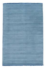 Handloom Fringes - Albastru Deschis Covor 80X120 Modern Albastru Deschis/Albastru (Lână, India)