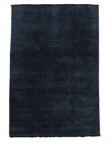 Handloom Fringes - Albastru Închis Covor 140X200 Modern Albastru Închis/Albastru (Lână, India)