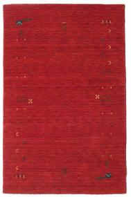 Gabbeh Loom Frame - Ruginiu Roşu Covor 100X160 Modern Roşu (Lână, India)