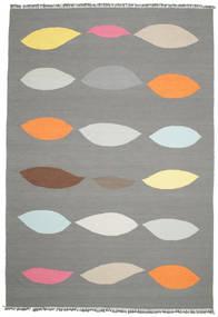 Leaves - Gri Covor 220X320 Modern Lucrate De Mână Gri Închis/Gri Deschis (Lână, India)