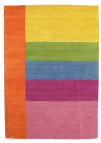 Colors By Meja Handtufted Covor 160X230 Modern Portocaliu/Roz Deschis (Lână, India)