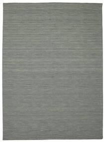 Chilim Loom - Gri Închis Covor 250X350 Modern Lucrate De Mână Gri Deschis/Verde Închis Mare (Lână, India)