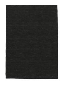Chilim Loom - Negru Covor 250X350 Modern Lucrate De Mână Negru Mare (Lână, India)