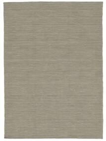Chilim Loom - Gri Deschis/Bej Covor 140X200 Modern Lucrate De Mână Gri Deschis (Lână, India)