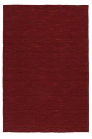 Chilim Loom - Dark Red Covor 140X200 Modern Lucrate De Mână Roşu (Lână, India)