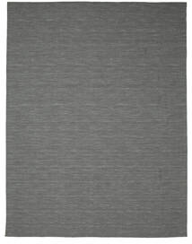 Chilim Loom - Gri Închis Covor 300X400 Modern Lucrate De Mână Verde Închis/Gri Deschis Mare (Lână, India)