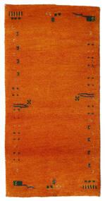 Gabbeh Indo Covor 72X143 Modern Lucrat Manual Portocaliu/Ruginiu (Lână, India)