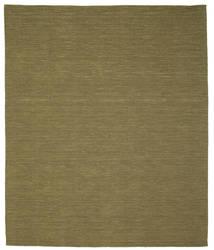 Chilim Loom - Oliv Covor 250X300 Modern Lucrate De Mână Verde Oliv Mare (Lână, India)