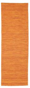 Chilim Loom - Portocaliu Covor 80X250 Modern Lucrate De Mână Portocaliu (Lână, India)