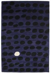 Camouflage Handtufted - Întuneric Covor 200X300 Modern Negru/Albastru Închis (Lână, India)