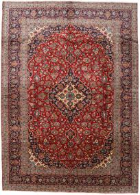 Kashan Covor 288X408 Orientale Lucrat Manual Roșu-Închis/Maro Închis Mare (Lână, Persia/Iran)
