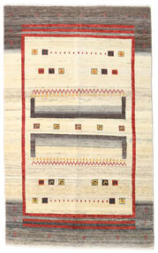 Gabbeh Kashkooli Covor 115X186 Modern Lucrat Manual Bej/Bej Închis (Lână, Persia/Iran)