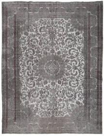 Colored Vintage Covor 291X380 Modern Lucrat Manual Gri Închis/Gri Deschis Mare (Lână, Persia/Iran)