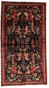 Nahavand Covor 137X245 Orientale Lucrat Manual Roșu-Închis/Maro Închis (Lână, Persia/Iran)