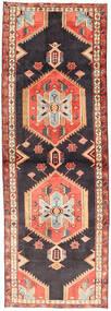 Ardabil Covor 99X283 Orientale Lucrat Manual Gri Închis/Ruginiu (Lână, Persia/Iran)