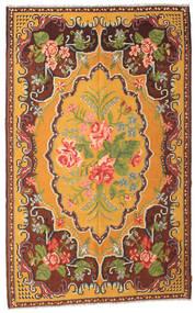 Chilim Rose Moldavia Covor 187X298 Orientale Lucrate De Mână Maro Închis/Portocaliu (Lână, Republica Moldova)