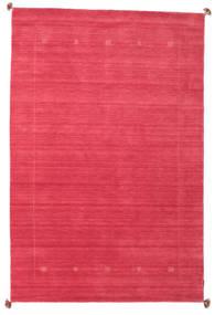 Loribaf Loom Covor 189X288 Modern Lucrat Manual Roşu/Roz (Lână, India)