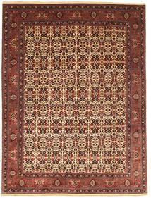 Bidjar Takab/Bukan Covor 255X351 Orientale Lucrat Manual Roșu-Închis/Maro Închis Mare (Lână, Persia/Iran)