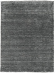 Handloom Fringes - Gri Închis Covor 160X230 Modern Gri Închis (Lână, India)
