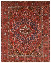 Bakthiari Patina Covor 337X431 Orientale Lucrat Manual Roșu-Închis/Ruginiu Mare (Lână, Persia/Iran)