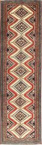 Hamadan Patina Covor 85X300 Orientale Lucrat Manual Maro Deschis/Roșu-Închis (Lână, Persia/Iran)