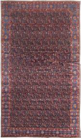 Senneh Covor 368X639 Orientale Lucrat Manual Maro Închis/Violet Deschis Mare (Lână, Persia/Iran)
