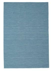 Chilim Loom - Albastru Covor 200X300 Modern Lucrate De Mână Albastru Turcoaz/Albastru Deschis (Lână, India)