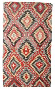 Chilim Semi-Antic Turcia Covor 170X298 Orientale Lucrate De Mână Gri Deschis/Ruginiu (Lână, Turcia)