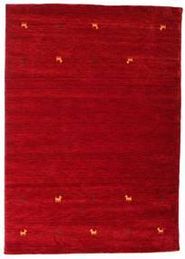 Gabbeh Loom Two Lines - Roşu Covor 160X230 Modern Roşu/Roșu-Închis (Lână, India)