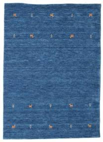 Gabbeh Loom Two Lines - Albastru Covor 140X200 Modern Albastru Închis/Albastru (Lână, India)