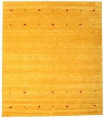 Gabbeh Loom Two Lines - Yellow Covor 240X290 Modern Galben/Portocaliu (Lână, India)