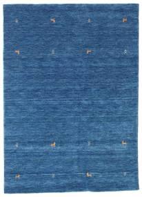 Gabbeh Loom Two Lines - Albastru Covor 160X230 Modern Albastru Închis/Albastru (Lână, India)