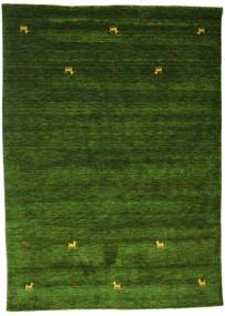 Gabbeh Loom Two Lines - Verde Covor 160X230 Modern Verde Închis (Lână, India)