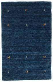 Gabbeh Loom Two Lines - Albastru Închis Covor 100X160 Modern Albastru Închis (Lână, India)