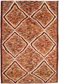 Barchi/Moroccan Berber Covor 197X292 Modern Lucrat Manual Roșu-Închis/Roşu (Lână, Afganistan)
