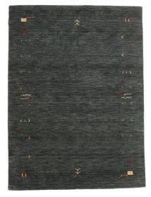 Gabbeh Loom Frame - Gri Închis/Verde Covor 140X200 Modern Verde Închis/Verde Închis (Lână, India)