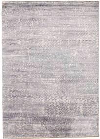 Damask Covor 175X246 Modern Lucrat Manual Gri Deschis/Bej ( India)