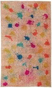 Colored Vintage Covor 170X286 Modern Lucrat Manual Maro Deschis/Roșu-Închis (Lână, Turcia)