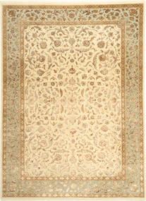 Tabriz Royal Magic Covor 209X289 Orientale Lucrat Manual Bej Închis/Bej ( India)