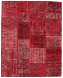 Patchwork Covor 198X251 Modern Lucrat Manual Roșu-Închis/Roşu (Lână, Turcia)