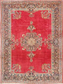 Kashan Covor 247X330 Orientale Lucrat Manual Roşu/Ruginiu (Lână, Persia/Iran)
