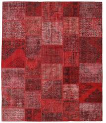 Patchwork Covor 247X295 Modern Lucrat Manual Roșu-Închis/Roşu (Lână, Turcia)