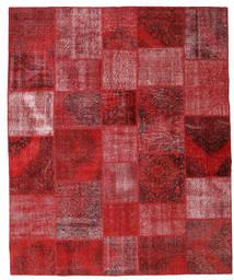 Patchwork Covor 251X305 Modern Lucrat Manual Roșu-Închis/Roşu Mare (Lână, Turcia)
