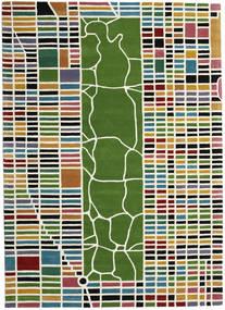 New-York/Manhattan Handtufted - Multi Covor 200X300 Modern Bej/Verde Oliv (Lână, India)
