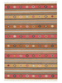 Chilim - Nezzim - Nezzim Covor 170X240 Modern Lucrate De Mână Maro Deschis/Gri Deschis ( India)