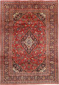 Mashhad Covor 201X290 Orientale Lucrat Manual Roșu-Închis/Maro Închis (Lână, Persia/Iran)